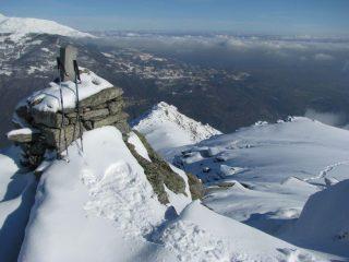 Il Monte Cavallaria , visto dalla cime di Le Colme