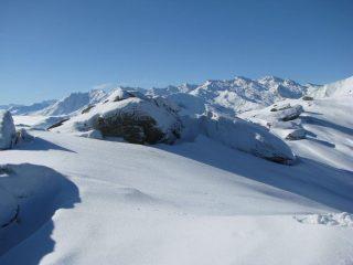 Panorama da Quinzeina a Monfandì
