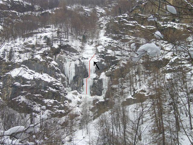 Salto del Minatore (Cascata) 2010-01-16