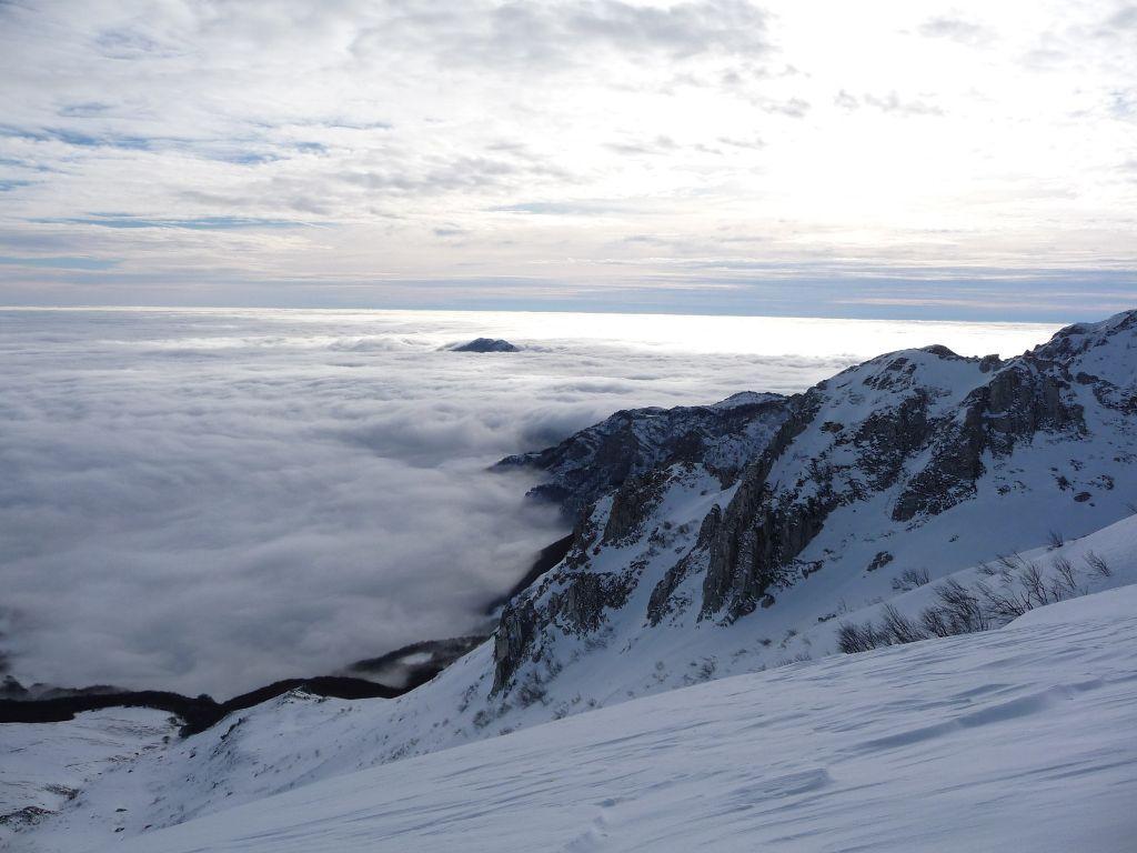 Mare di nebbia...