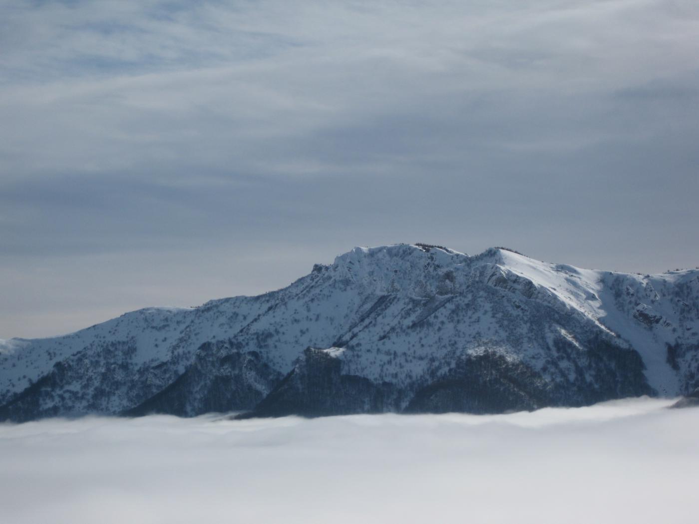 panorama sopra le nebbie........