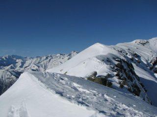 Panorama della cresta