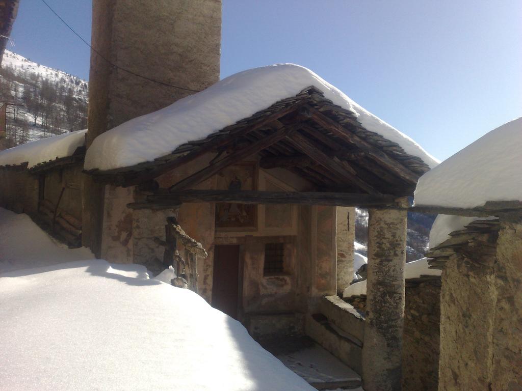 breve giretto con gli sci nel paesino di Chesta