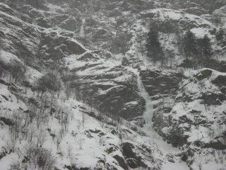 La cascata 25 Gennaio 2010