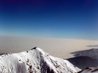 Il Vandalino e la nebbia in pianura