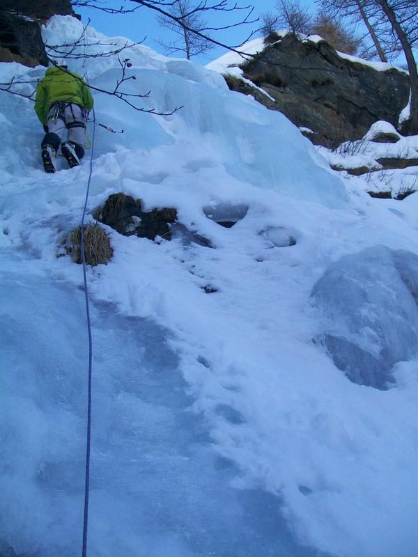 Marco sul 4° tiro nella parte sx senza neve