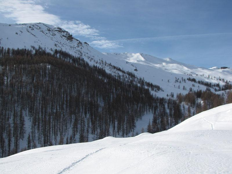 vista dall'alpe brun