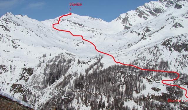 percorso Vieille