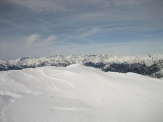 Le alpi Marittime.