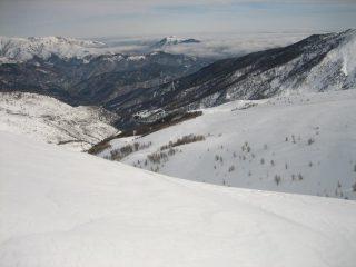 La valle del Tanarello e Monesi.