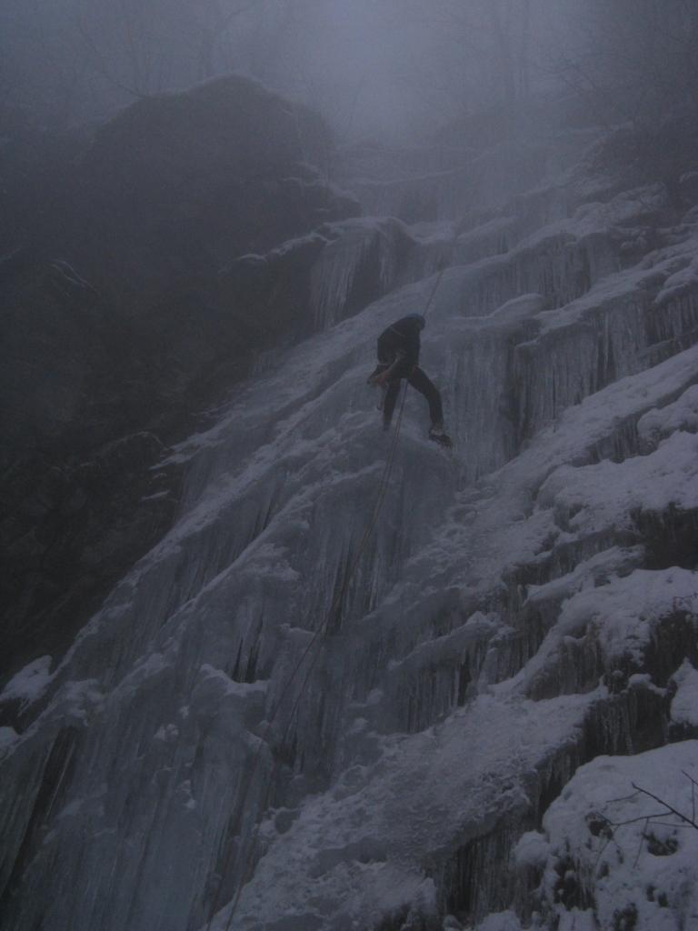 La cascata oggi