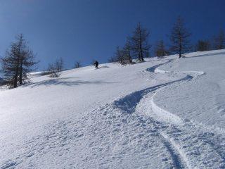 La neve di oggi...