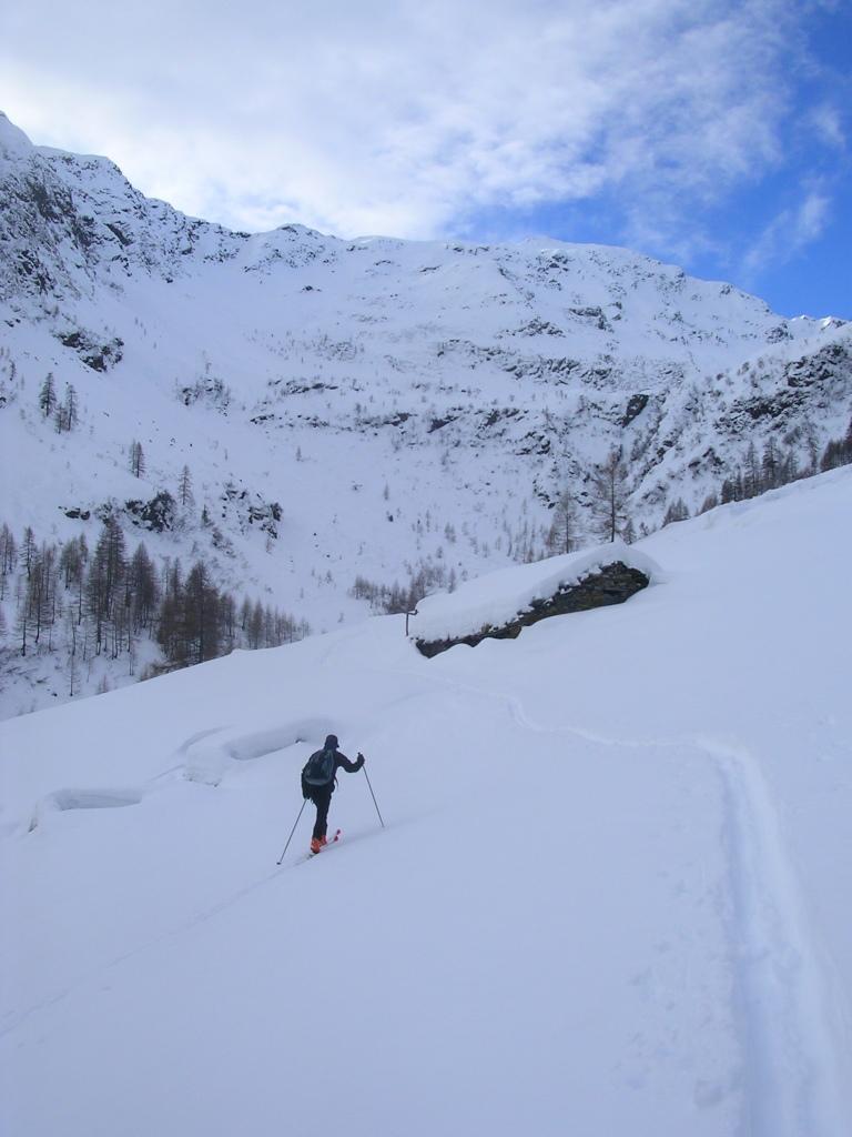 La fredda Val Vedrano