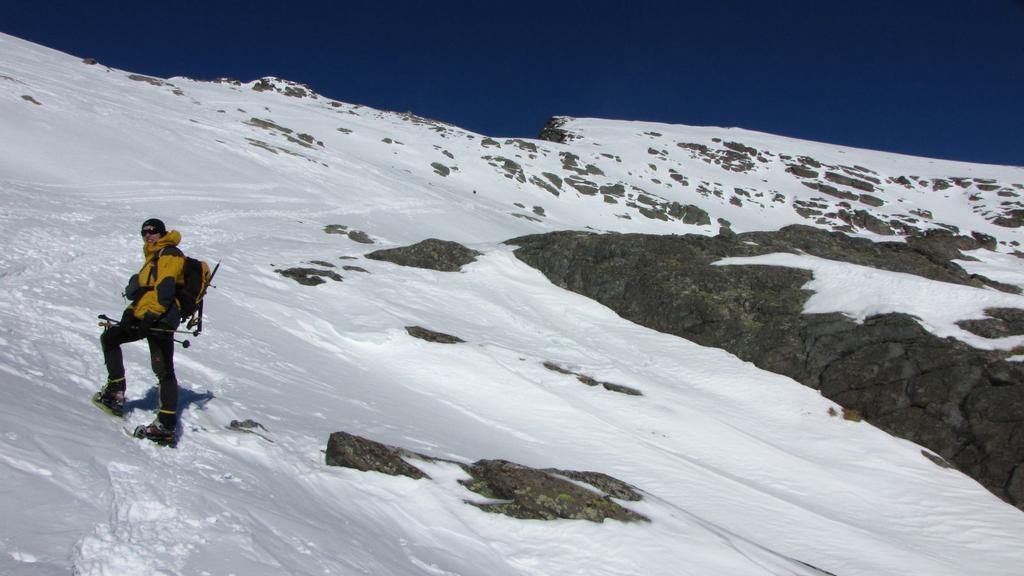 Stelvio sale verso il Mont Saint Marie (31-1-2010)