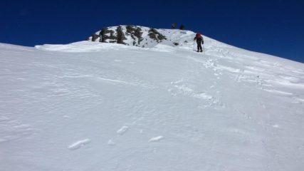 salendo verso la cima ! (31-1-2010)
