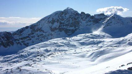 panorami dalla cima : Monte Bego (31-1-2010)