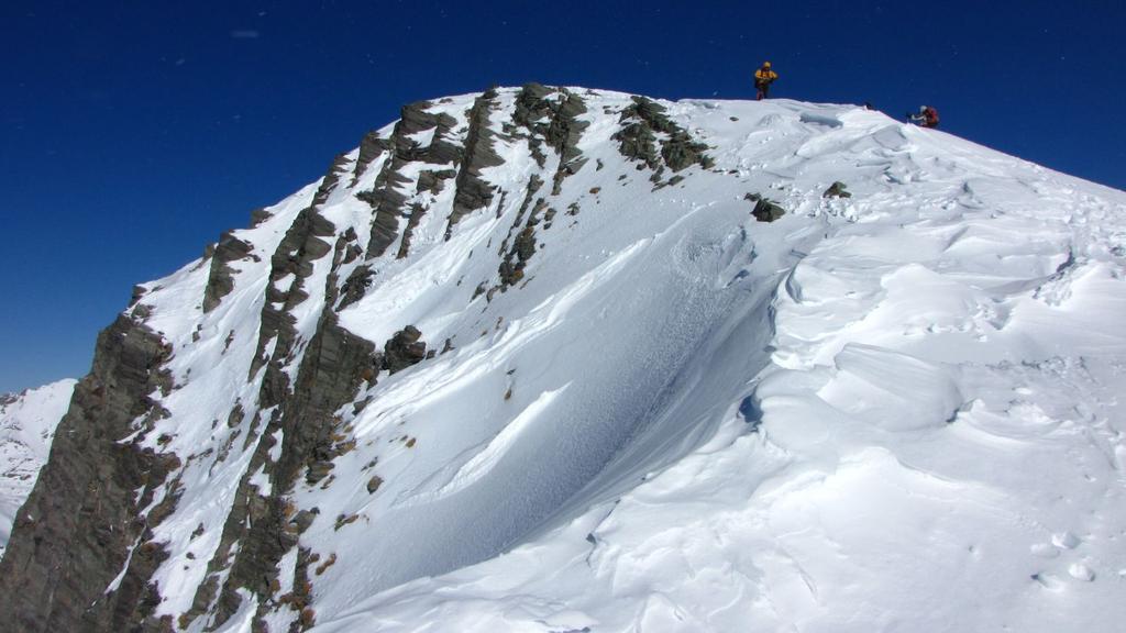 la vetta del Mont Saint Marie (31-1-2010)