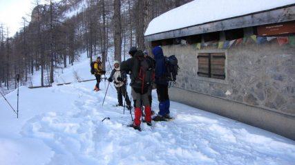al Refuge de Fontanalbe (31-1-2010)