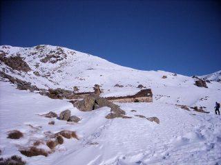 arrivando all'alpe pinalba