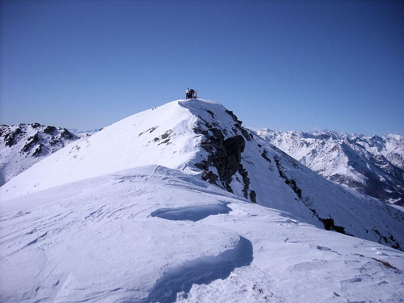 ultimo tratto di cresta per la cima