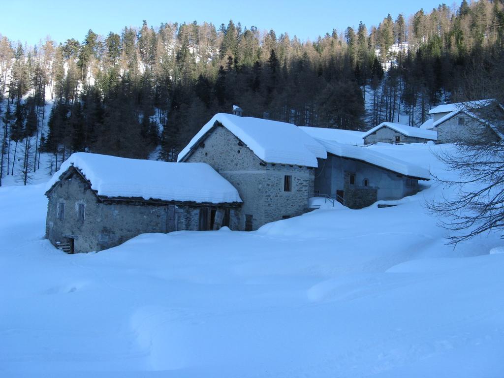 inverno alla Borgata Soubeiran