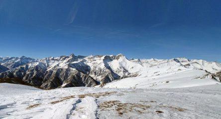 Dal Chersogno al Pelvo d'Elva