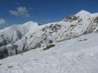 Panorama su cima dell'Angiolino e Uja di Corio