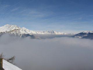 Nuvole in bassa valle