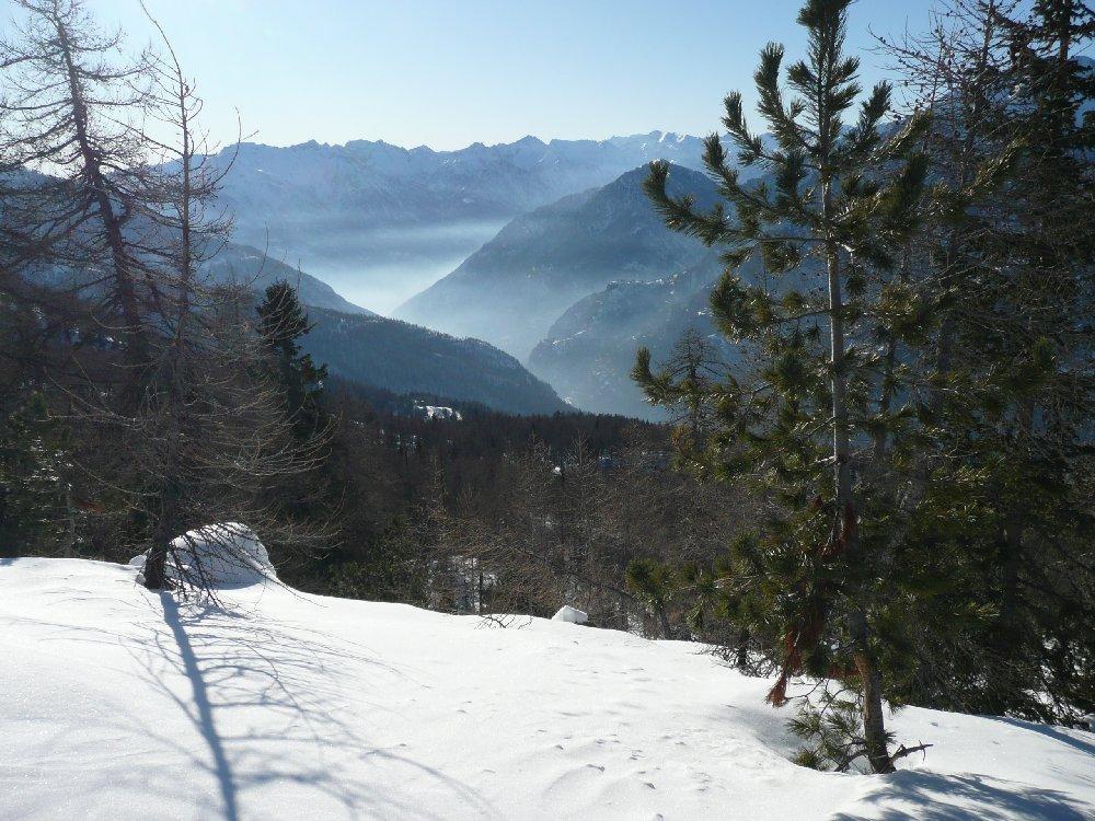 Verso il fondo valle