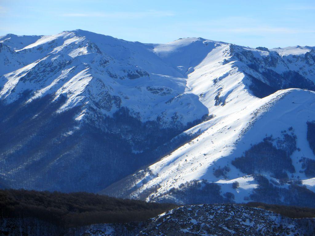 Serra Terratta Sud (Cima Sud) per la Valle del Monte 2014-02-04