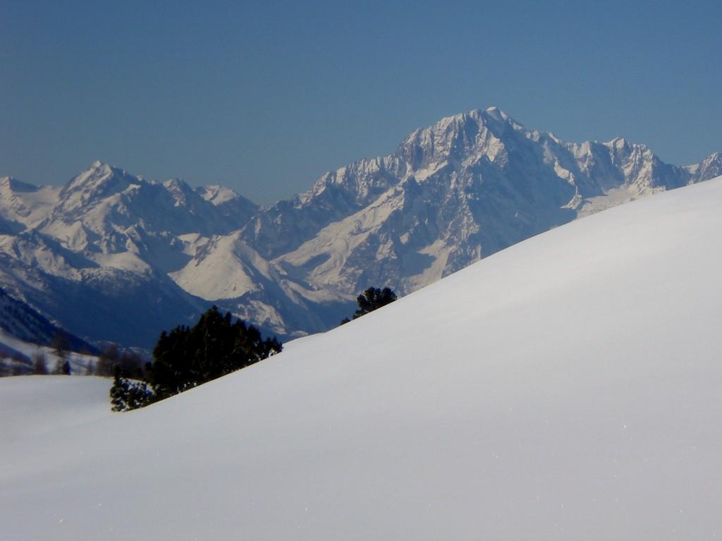 il Bianco dalla cima