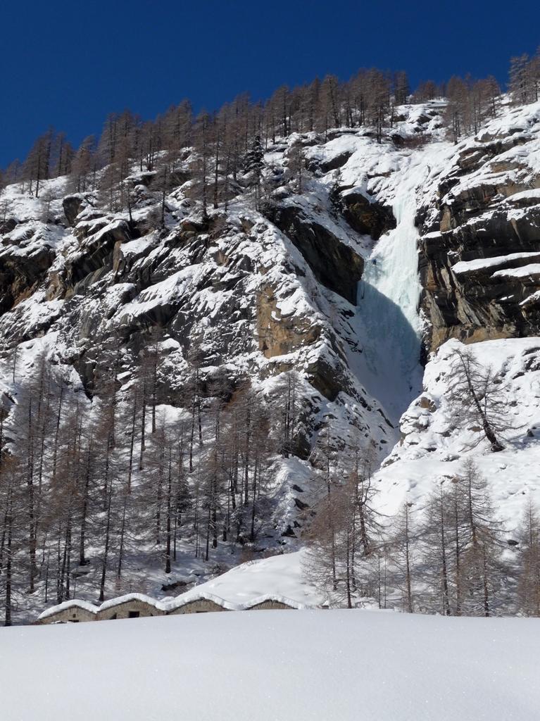 accesso alla cascata