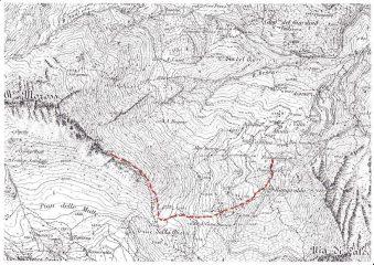 Itinerario Rocca Moross spalla Est