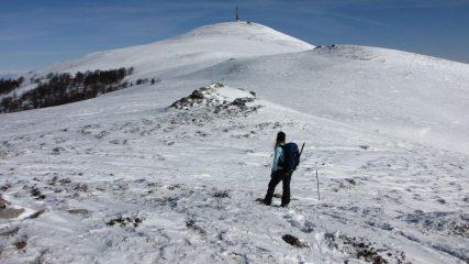salendo verso la cima (21-2-2010)