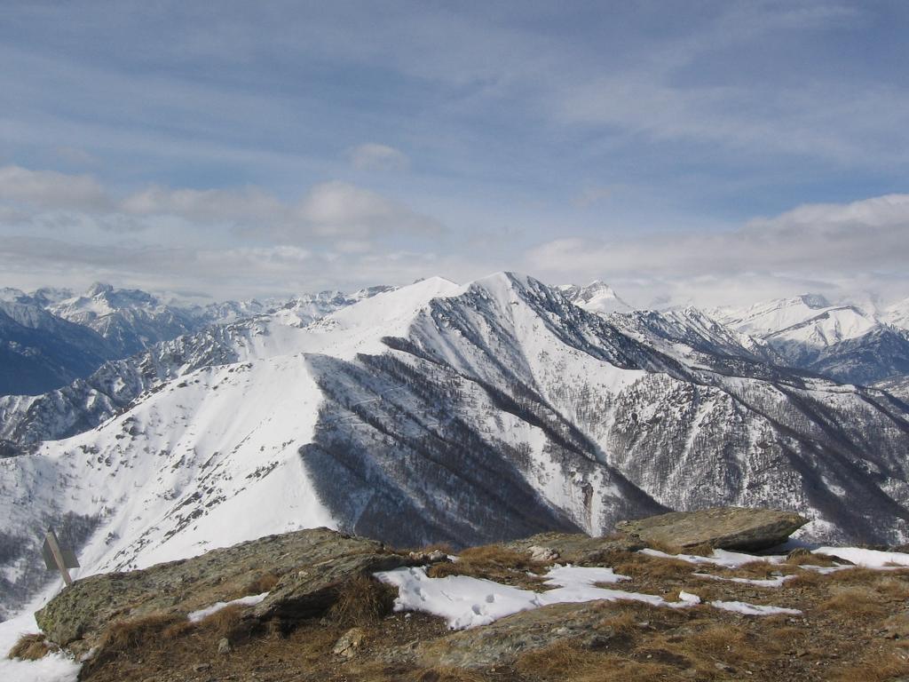 Panorama verso alta valle