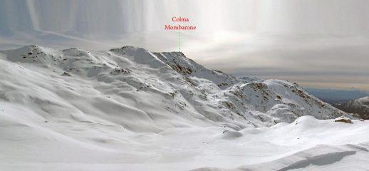 Il vallone di Trovinasse, con la Colma di Mombarone in bella vista
