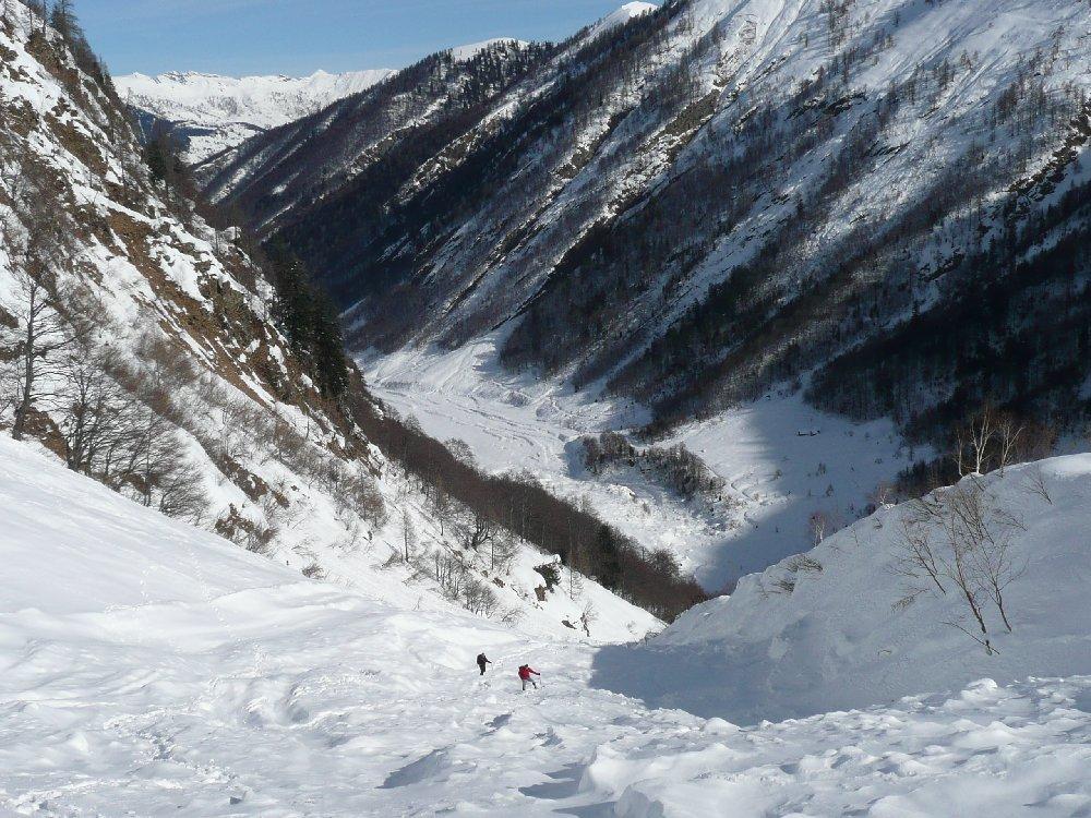 Val Loana e vallone svalangato
