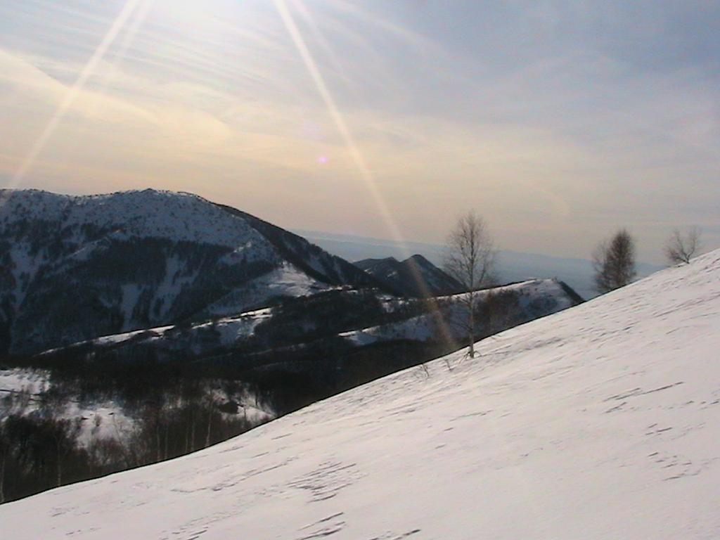 Panorama verso il Col del Lys