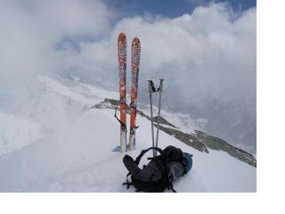 Sulla Punta dell'Alp....