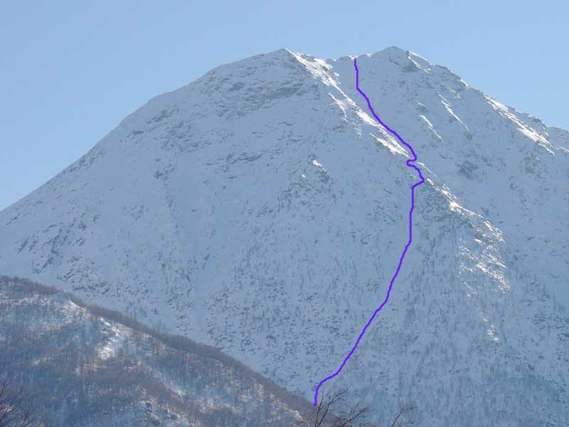Prete (Torretta del) dal versante nord 2006-03-07