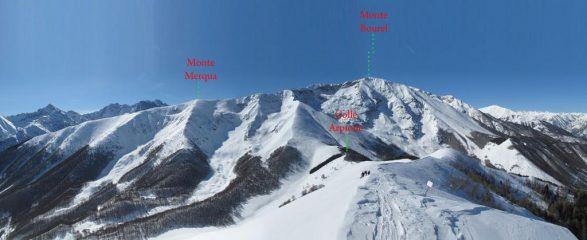 Monte Merqua e Bourel