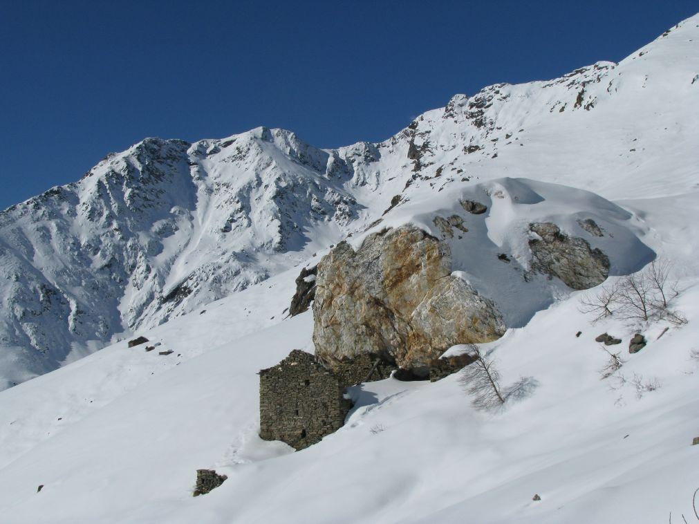 Panorama sulle Quinzeine, dal Roc Bianc