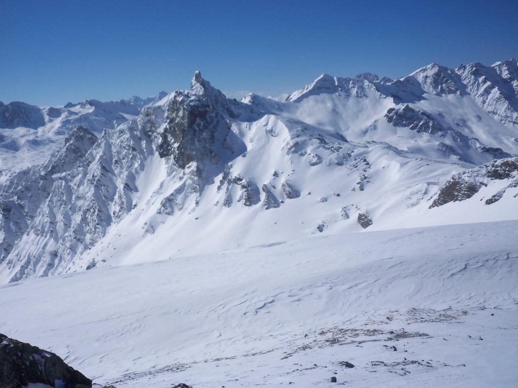 panorama sulla Niera dalla cima