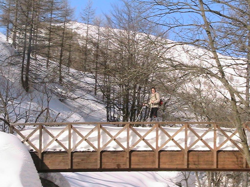 Un pò di neve sul ponte