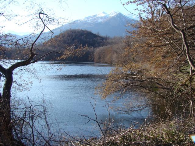 lago Nero -  Cavallaria e Gregorio innevati