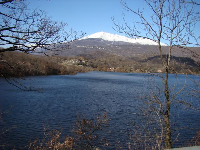 lago Sirio e Torreta Mombarone innevate