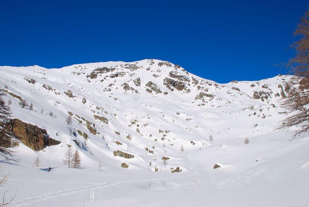 il Mont Sainte Marie nel tratto superiore