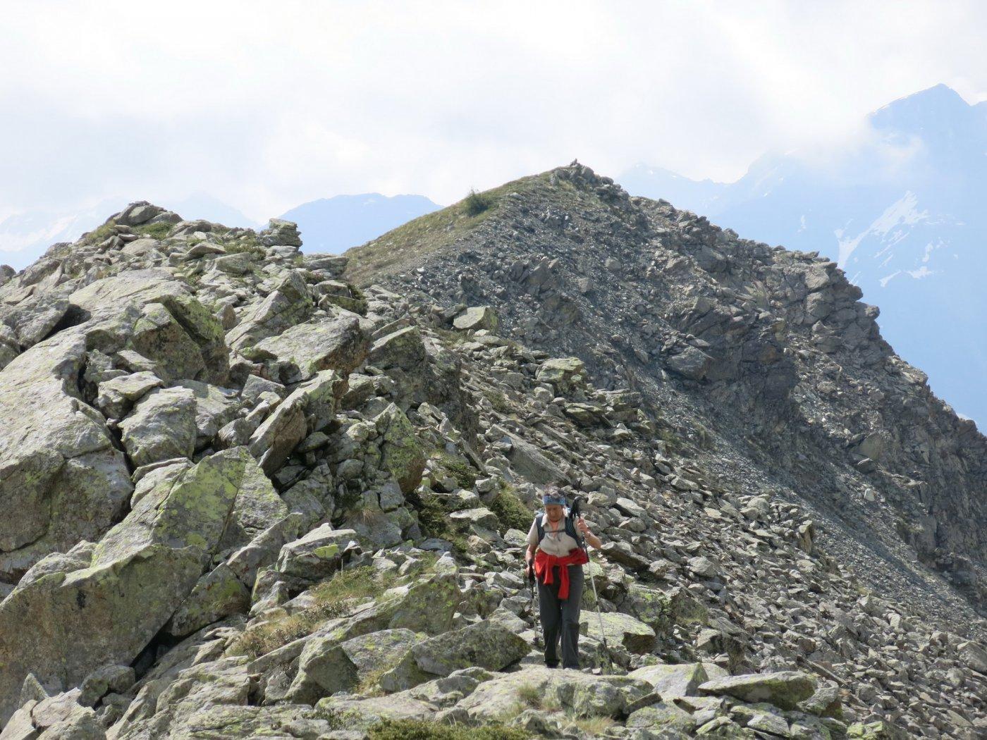 Raty (Bec), Mont Ros da Mont Blanc, anello per i Laghi Vernouille e Raty 2015-07-08