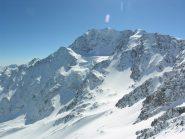 Il Fletschhorn dalla cima
