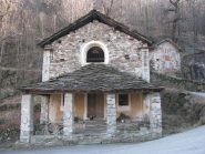 La chiesa di S. Bernardo, dove inizia la gita